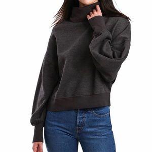 Z Supply Women's Ellis Mock Pullover Sweatshirt